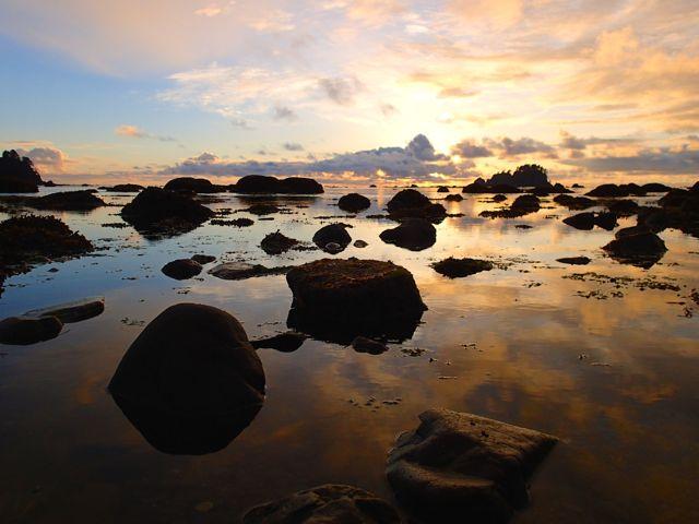 Sunset at Cape Alava