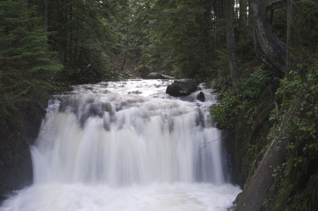 Rolley Falls in Mission BC
