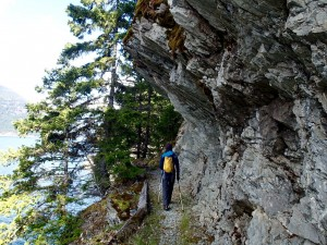 Spring Backpacking Near Vancouver: East Bank Trail