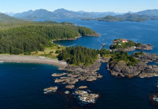 Flying over Yuquot