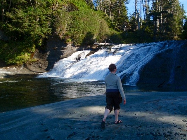 Calvin Falls on the Nootka Trail