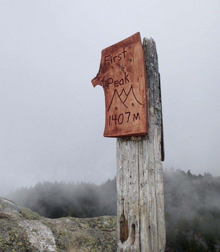 First Peak, Mount Seymour is a good alternative to the Grouse Grind.