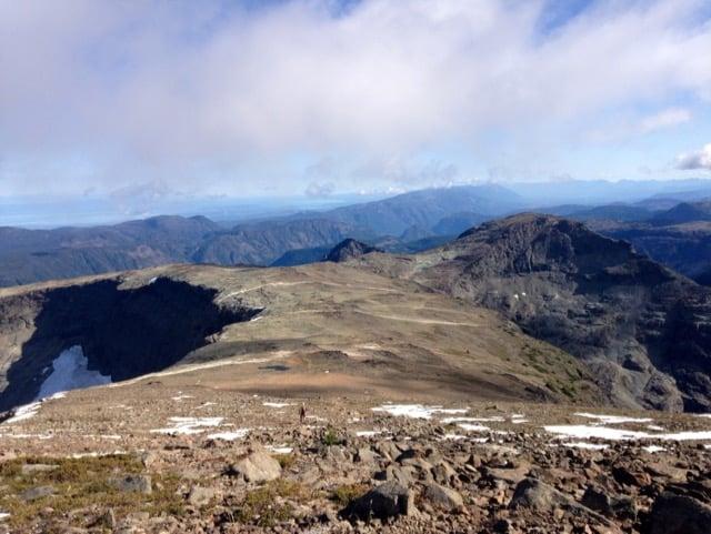 Mount Albert Edward Ridge