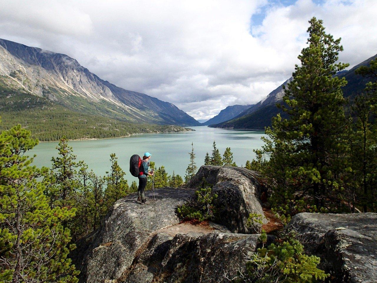 Lake Bennett on the Chilkoot Trail