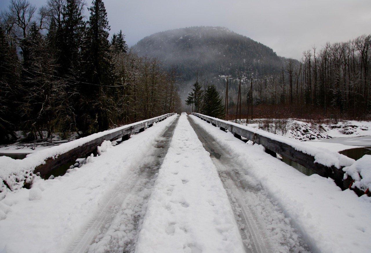 Squamish River back roads