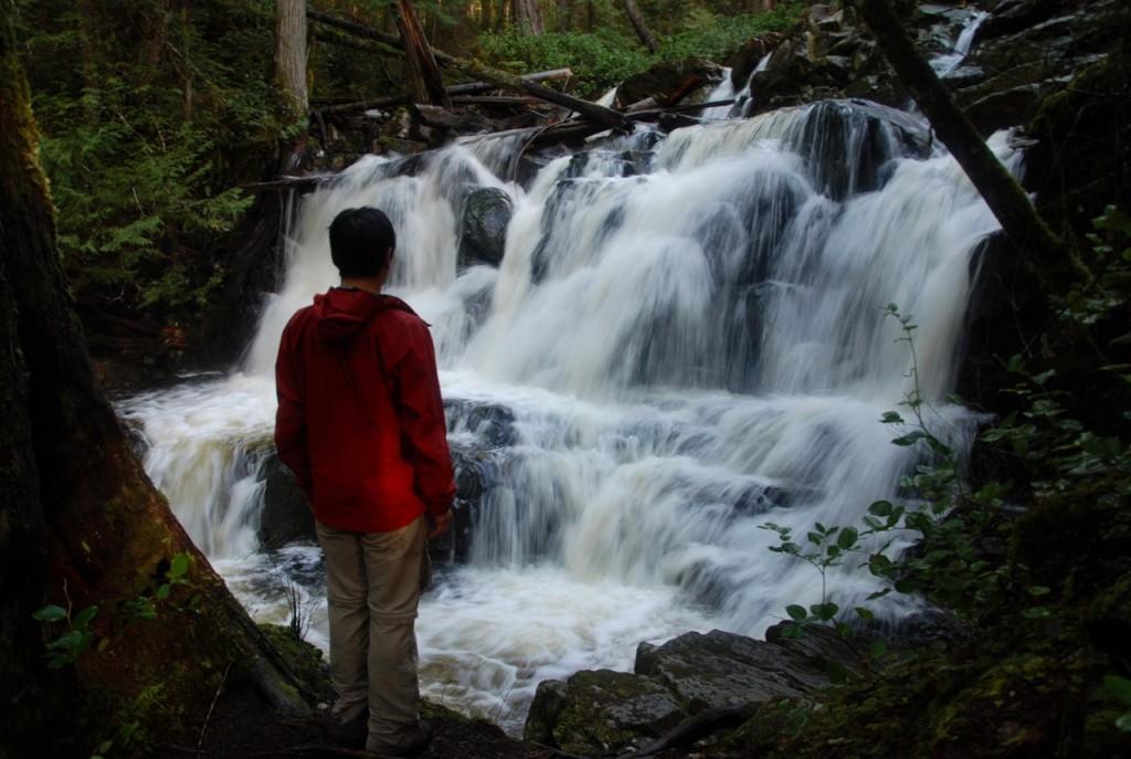 Backpacking the Sunshine Coast Trail - Gorge Falls