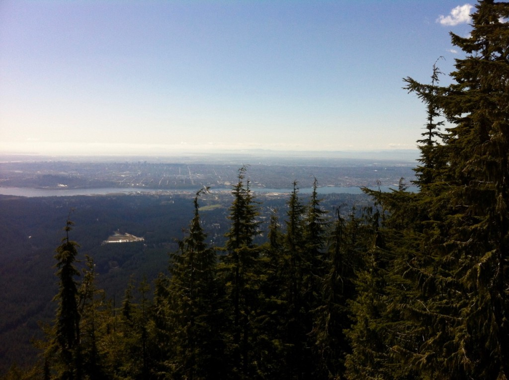The lackluster obscured view from Lynn Peak makes it one of the worst hikes from Vancouver.