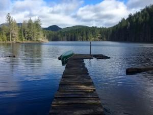 Backpacking the Sunshine Coast Trail - Little Sliammon Lake
