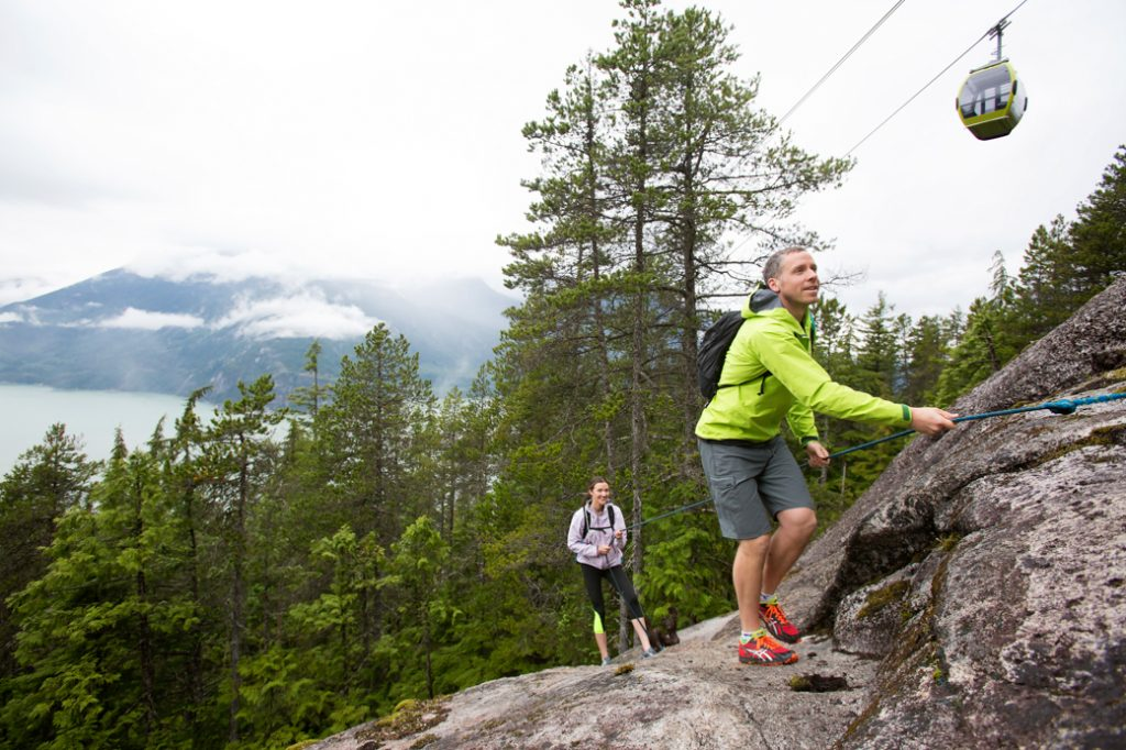 The Sea to Summit Trail has been called the Squamish Grind