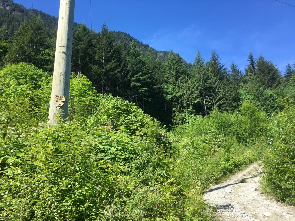 Sigurd Creek Trailhead - Crooked Falls