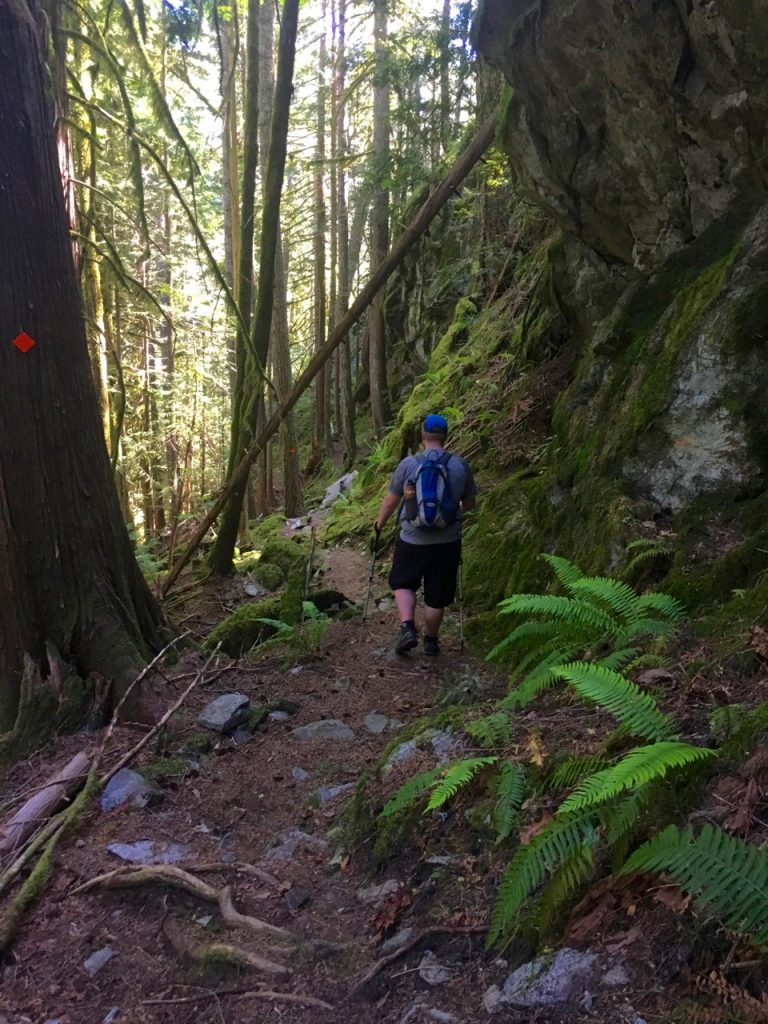 Sigurd Trail to Crooked Falls
