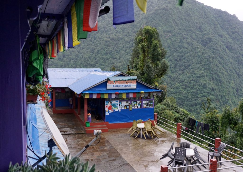 A guesthouse on the Annapurna Sanctuary Trek. 8 things I wish I knew before going trekking in Nepal