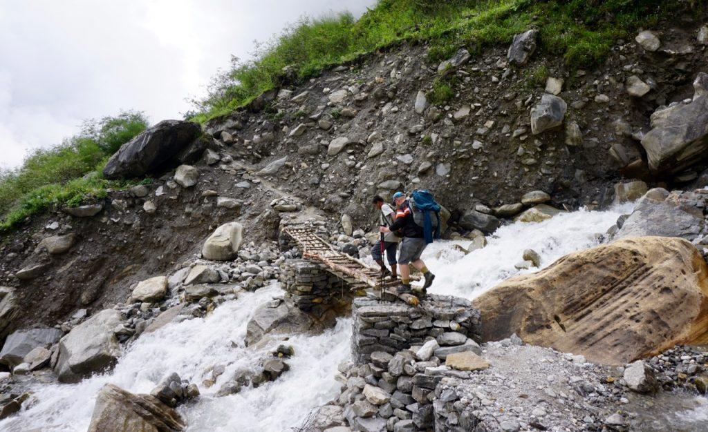 Trekking to Annapurna Base Camp