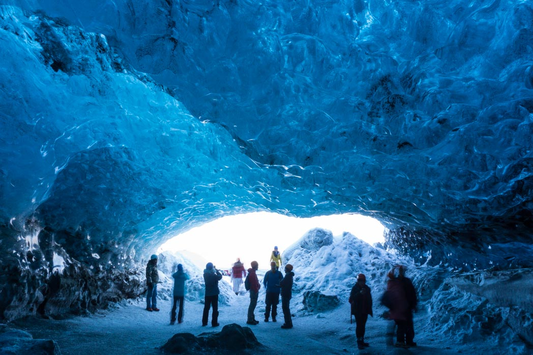 The Crystal Ice Cave during winter in Iceland: 7 Things You Might Not Know About Winter in Iceland