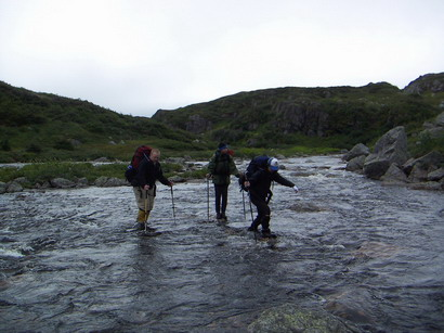 Hiking the Long Range Traverse in Gros Morne National Park, Newfoundland.