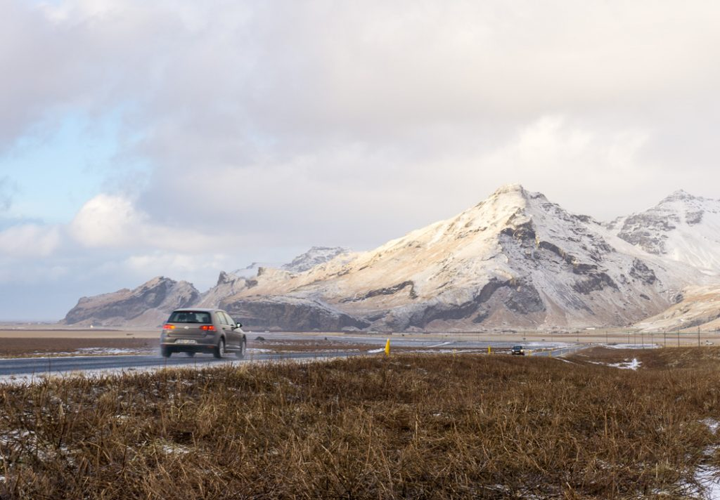 Winter road on the south coast of Iceland. A winter week in Iceland. Iceland in January. 35 Photos that will make you want to go to Iceland in winter.