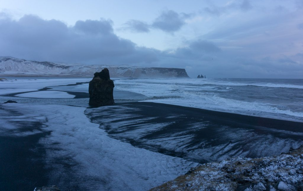 The view from Dyrholaey in winter. A winter week in Iceland. Iceland in January. 35 Photos that will make you want to go to Iceland in winter.