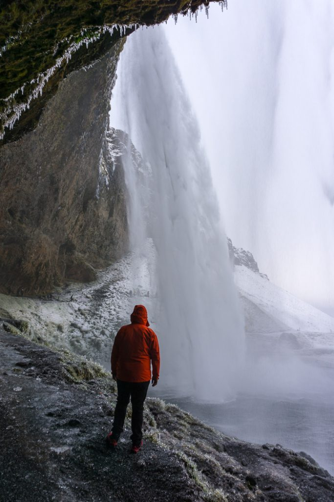 Seljalandfoss in winter. A winter week in Iceland. Iceland in January. 35 Photos that will make you want to go to Iceland in winter.