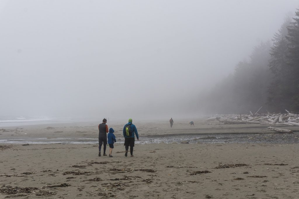 Willoughby Creek on Shi Shi Beach. A complete guide to hiking and camping at Shi Shi Beach.