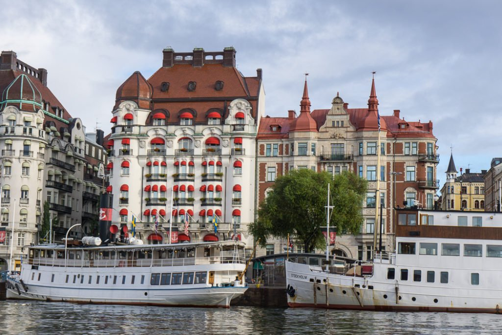 The Diplomat hotel in Stockholm, Sweden. 30 photos of Stockholm that will inspire you to visit.