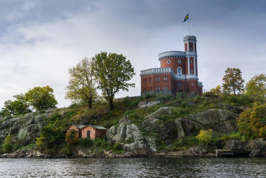 Kastellet Stockholm in Stockholm, Sweden. 30 photos of Stockholm that will inspire you to visit.