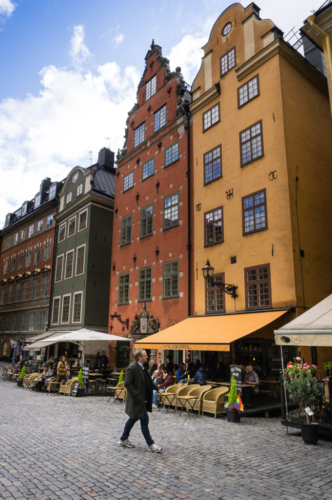 Stor Torget square in Stockholm, Sweden. 30 photos of Stockholm that will inspire you to visit.