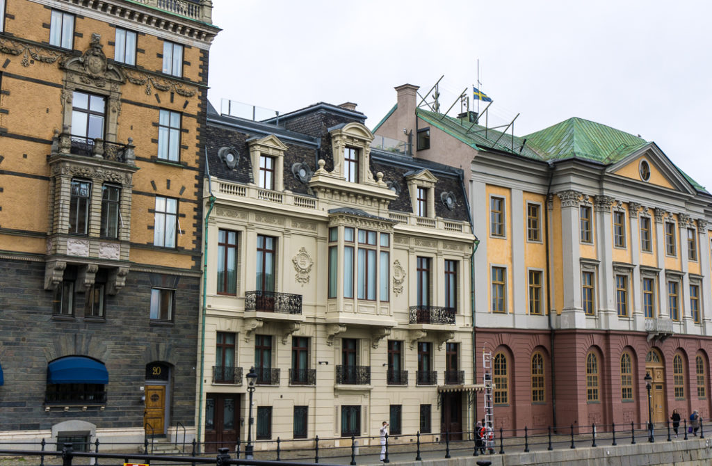 Sagerskahuset, Sweden's White House. Visit it on the Ultimate Self-Guided Walking Tour of Stockholm
