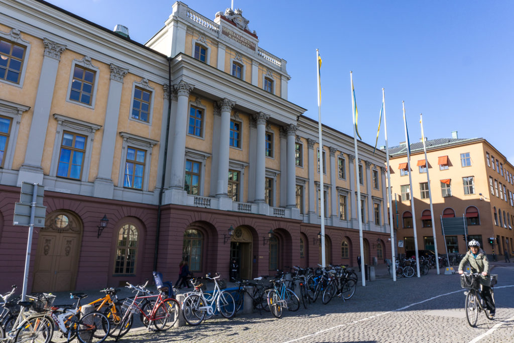 Arvfurstens Palats. Visit it on the Ultimate Self-Guided Walking Tour of Stockholm