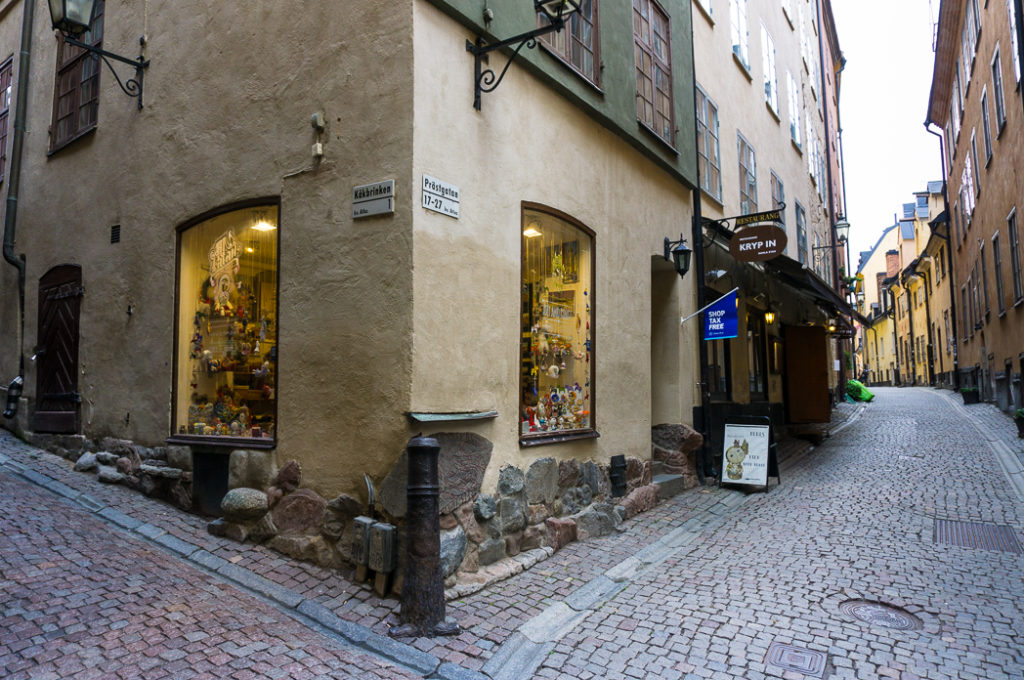 A runestone in Gamla Stan, Stockholm. Visit it on the Ultimate Self-Guided Walking Tour of Stockholm