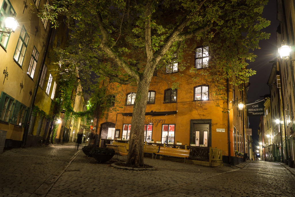 Branda Tomten in the old town of Stockholm. Visit it on the Ultimate Self-Guided Walking Tour of Stockholm