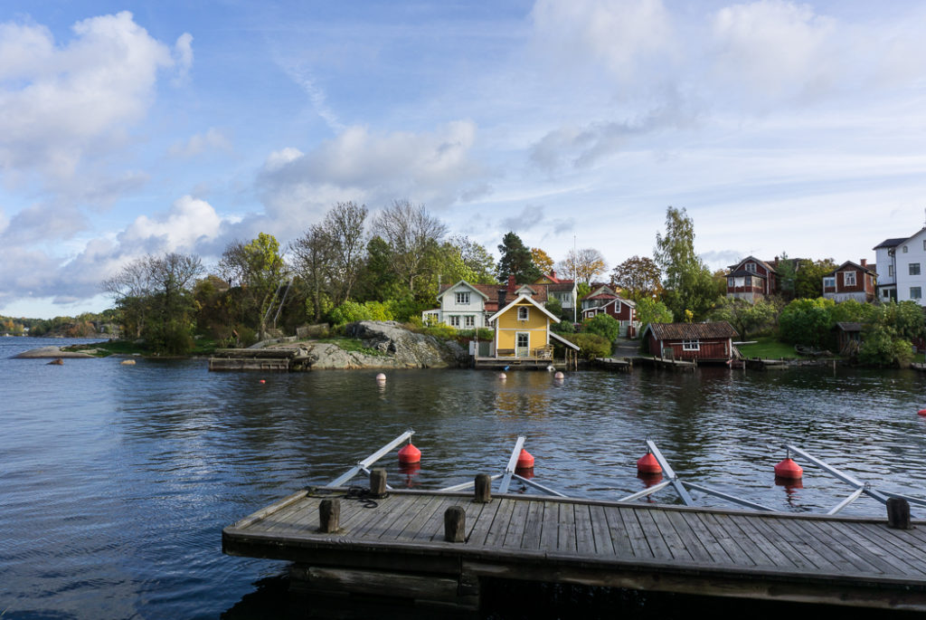 Vaxholm island, Stockholm, Sweden. 30 photos of Stockholm that will inspire you to visit.