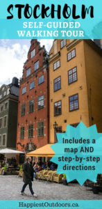 The Ultimate Self-Guided Walking Tour of Stockholm, Sweden. Explore the picturesque old town (Gamla Stan) of Stockholm with this step by step walking tour guide. Includes a map. #Stockholm #Sweden #walkingtour #GamlaStan