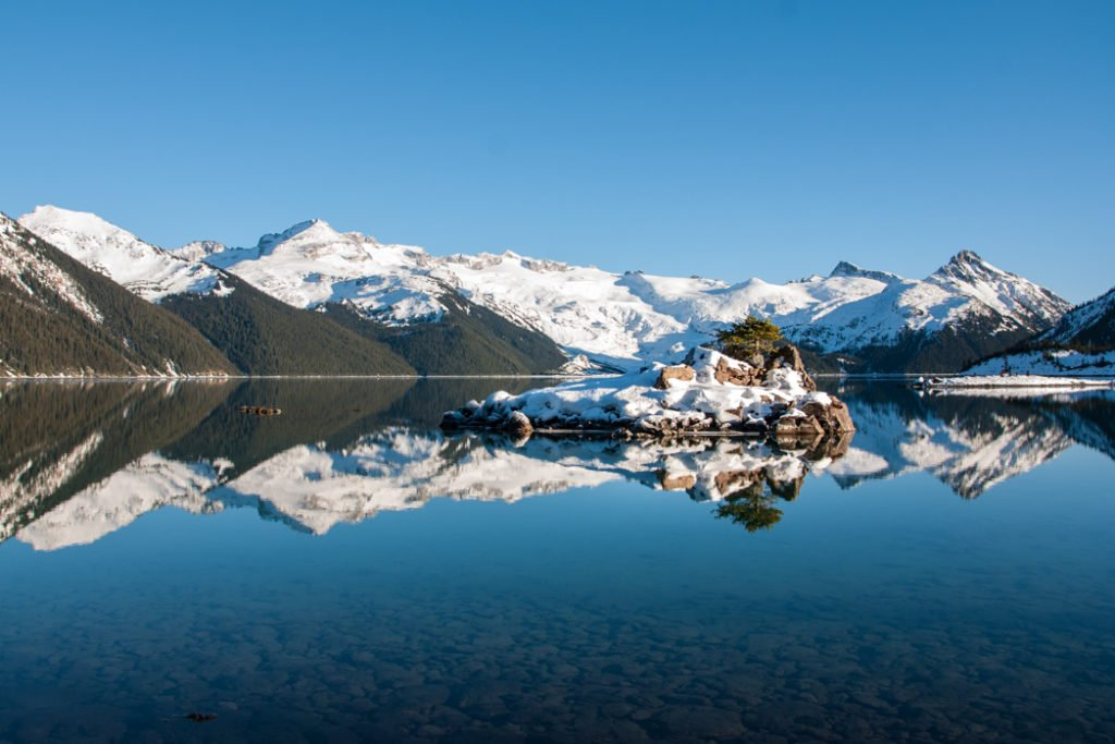 Snowshoeing to Garibaldi Lake near Squamish, BC. The Ultimate Guide to Snowshoeing in Squamish.