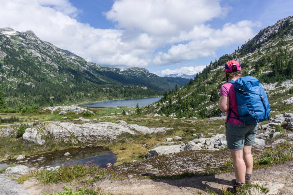 Rainbow Lake, Whistler, BC, Canada