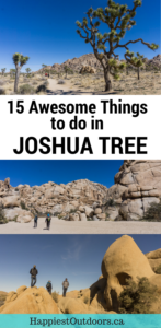 15 Awesome things to do in Joshua Tree National Park in California, USA. Includes the best hikes, where to get the best views, how to see the stars and so much more