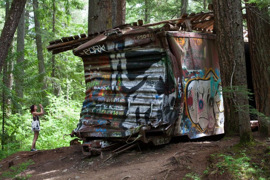 Whistler Train Wreck