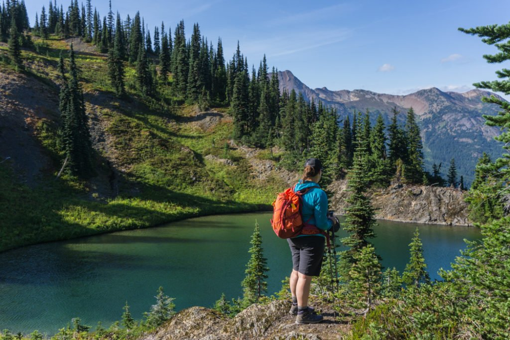 Best Hiking Shorts for Curvy Women: Black Diamond Valley Shorts. Learn more about how to find women's hiking clothing for your body type.