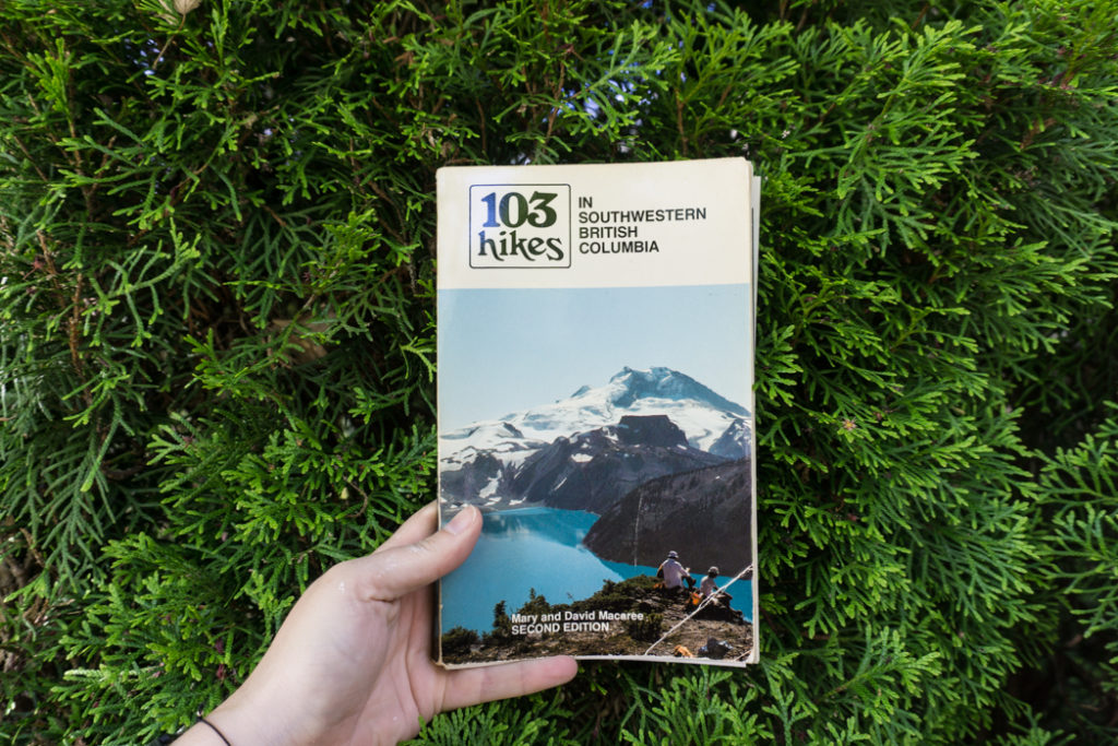 The second edition of 103 Hikes. Learn about the history of hiking guide books in BC from the 1st edition of 103 hikes in 1973 to the new 105 Hikes in and Around Southwestern British Columbia, published in 2018.