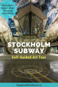Stockholm's subway is the world's longest art gallery. Follow this self-guided tour to see 12 stations full of art on the Stockholm subway art tour.