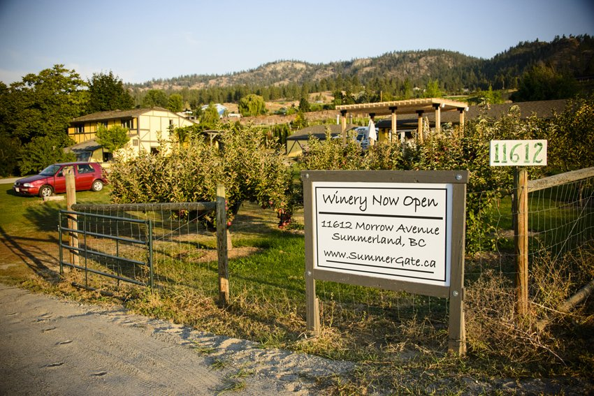 Summergate Winery in Summerland, BC. Explore Summerland's wineries by bike with this self-guided tour.