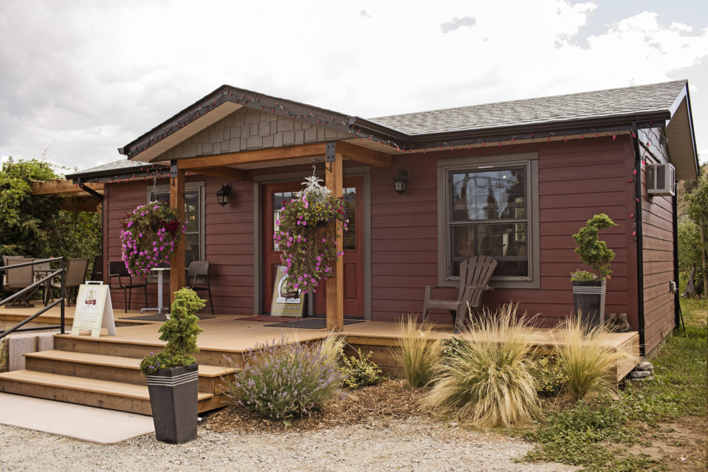 Summerland Heritage Cider in Summerland, BC. Explore Summerland's wineries by bike with this self-guided tour.