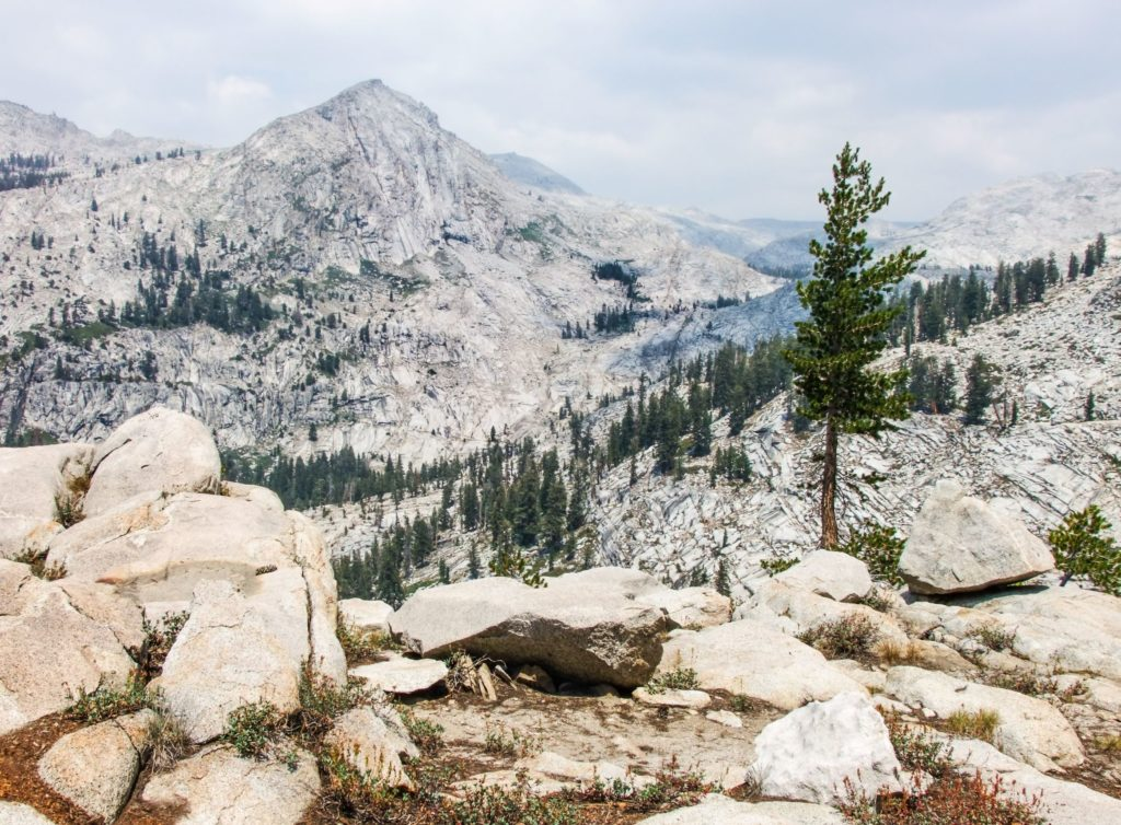Hiking the Lakes Trail in Sequoia National Park - just one of many things to do in Sequoia and Kings Canyon National Parks.