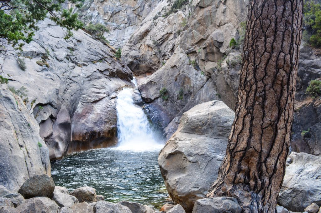 Roaring River Falls in Kings Canyon National Park - just one of many things to do in Sequoia and Kings Canyon National Parks.
