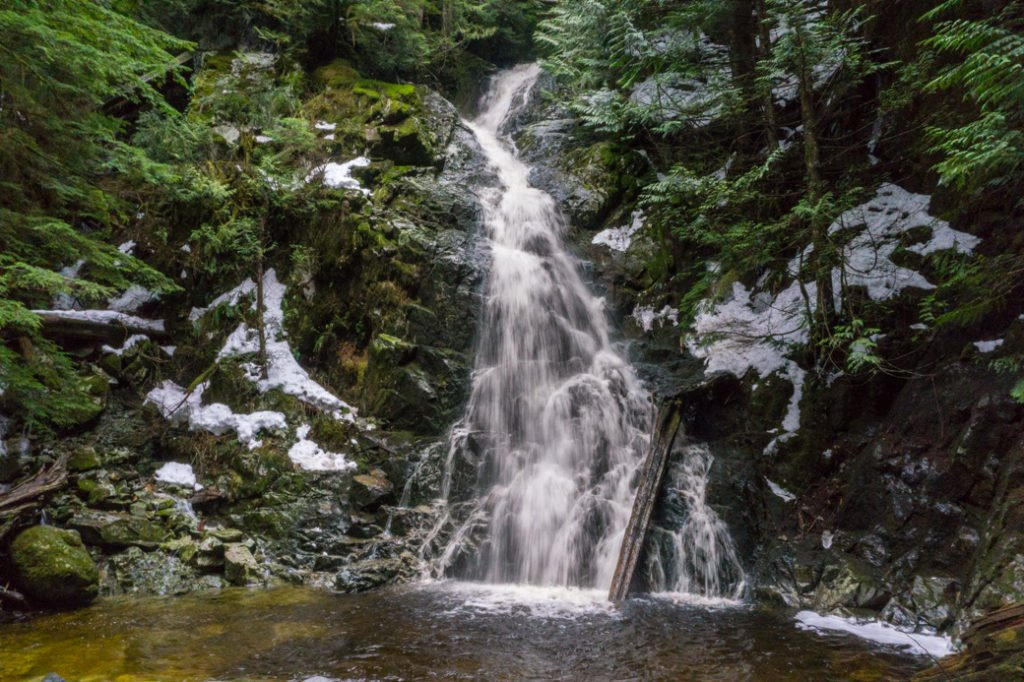 Sawblade Falls on Woodland Walk is one of the worst hikes in Vancouver