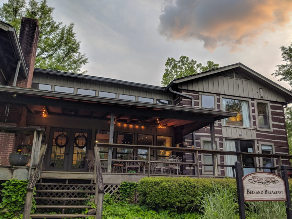 The B&B at the historic French Camp on the Natchez Trace. Learn how to cycle tour the Natchez Trace Parkway in this detailed guide.