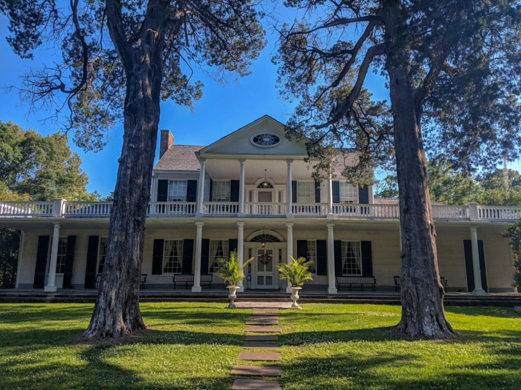 The Linden B&B in Natchez, MS at the end of the Natchez Trace. Learn how to cycle tour the Natchez Trace Parkway in this detailed guide.