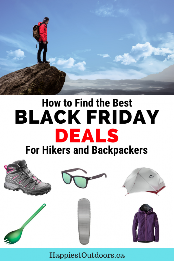 How to find the best Black Friday Deals for hikers and backpackers