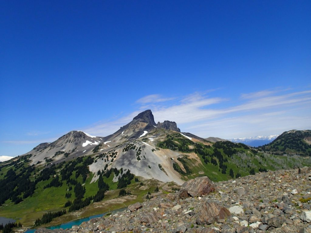 Black Tusk in Garibaldi Provincial Park near Vancouver, BC - one of the most Instagrammed hikes in Vancouver