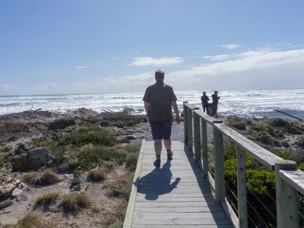 Edge of the World viewpoint in Arthur River on the Tarkine Drive in Tasmania