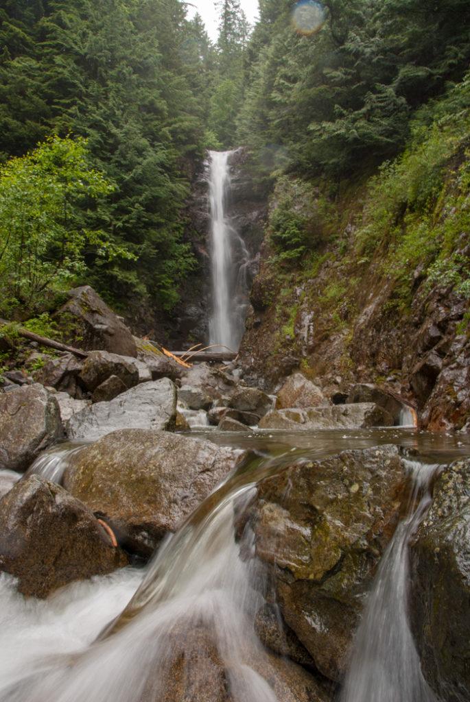 Norvan Falls in Lynn Headwaters Regional Park